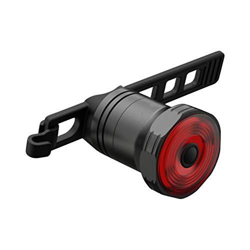 LED Rückleuchte, Rücklicht Fahrrad, Fahrradbeleuchtung, LED Fahrrad Rücklicht Auto Start/Stopp Bremse Sensing Wiederaufladbares Rücklicht