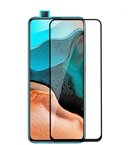 FanTings Película protetora de tela OnePlus Clover, [dureza 9H, cobertura total, sem bolhas e impressões digitais], película de vidro temperado resistente a arranhões para OnePlus Clover-Black(1 unidade)