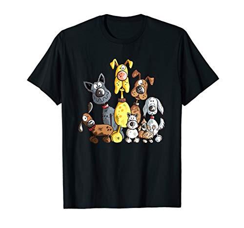 Funny Hundehaufen T Shirt I Hunde Team Hundehalter T-Shirt
