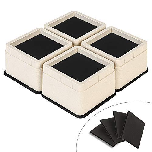 Uping Elevador Muebles Alza Mueble Elevadores Camas Mesas, Aumente Altura en 5,3 cm o 10,6 cm