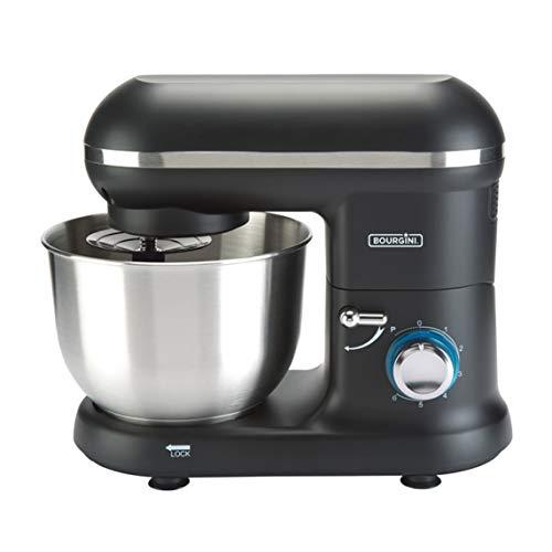 Bourgini Classic Kitchen Chef Black - Küchenmaschine - Mixer