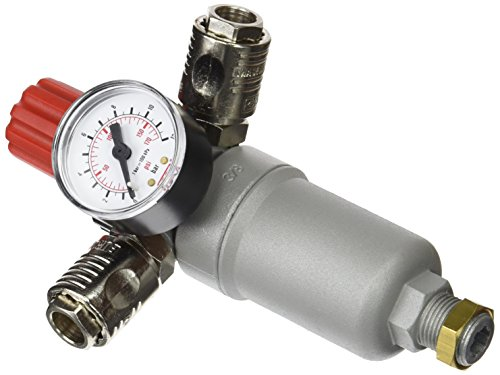 SALAKA Compresor de Control de Aire AR2000 con man/ómetro V/álvula reguladora de Alivio del man/ómetro
