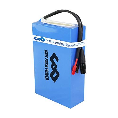 uppcycle Batterie per Bicicletta elettrica da 48 V 20 Ah - Batteria per Bici agli ioni di Litio per Motore Ebike da 1000 W / 750 W / 500 W.