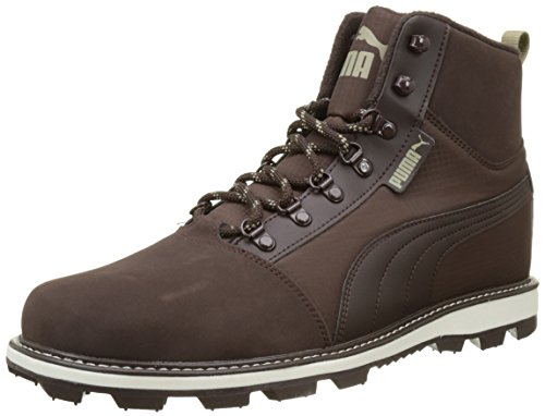 PUMA Tatau Fur Boot 2, Sneaker Man (Hiking And Camping), Black Coffee/Chocolate Brown, 39 EU