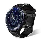 ZHICHUAN Exquisite 4G Sport Smartwatch, Fitness- Und Tätigkeits-Tracker Mit Eingebauten Gps, Herzfrequenz, Musik, Smart-Benachrichtigungen, Ip68-Lebensdauer Wasserdicht, Dual-Kamera