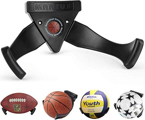 Healthman Bestbuy - Soporte de pared para pelotas de baloncesto, ahorra espacio, para fútbol, béisbol, rugby, voleibol, gimnasia, etc.