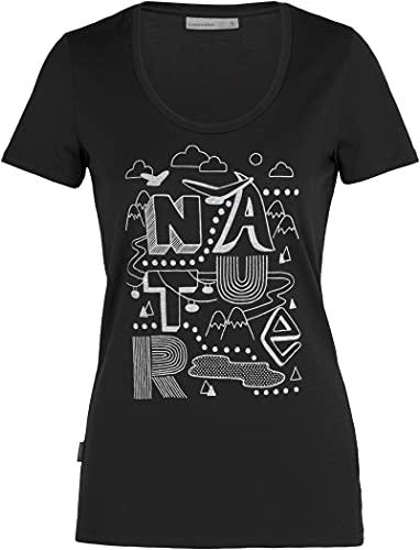 Icebreaker Camiseta Modelo W Tech Lite SS Scoop Nature Marca