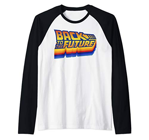 Back To The Future Retro 80s Logo Baseball Shirt, 5 Colors, Men, Women, S to 2XL