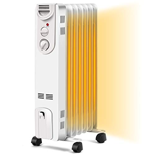 COSTWAY Oil Filled Radiator Heater