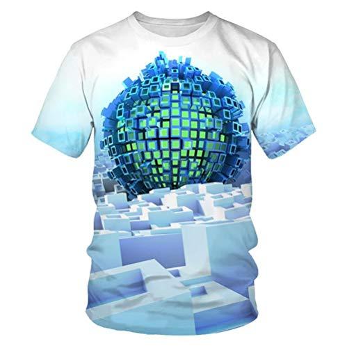WPYDHM Impresión Geométrica Azul Mantel 3D Rectangular Cuadrado Plegable Mesa Cubierta Impermeable...