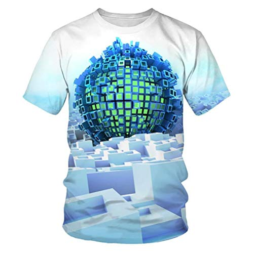 WPYDHM Impresión Geométrica Azul Mantel 3D Rectangular Cuadrado Plegable Mesa Cubierta Impermeable Poliéster Jardín para Muebles De Cocina-XL