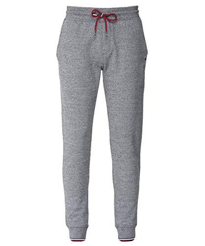 Tommy Hilfiger Mouliné - Pantalones de chándal para Hombre, Color Gris