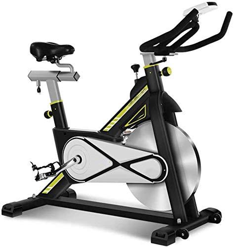 RUN En posición Vertical Bicicleta estática, 106 cm (L) x 50cm (W) X Ajustable 97-106Cm (H) Fácil de Usar para el Entrenamiento aeróbico Ejercicio/Pata/Ejercicio de la Yoga