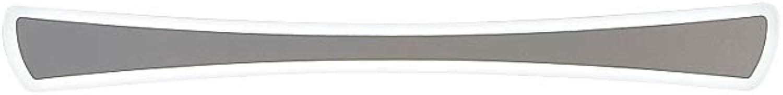J.SUNUN Wandleuchte aus Acrylspiegel, Stilvolle und einfache Acryl-LED-Spiegelscheinwerfer Badezimmerwandleuchte für Badspiegelfrontbeleuchtung 220V (Farbe   Weies Licht, Gre   40cm 13W)