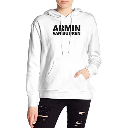 Armin Van Buuren - Sudadera con capucha para mujer y nia, manga larga, bolsillo con cordn