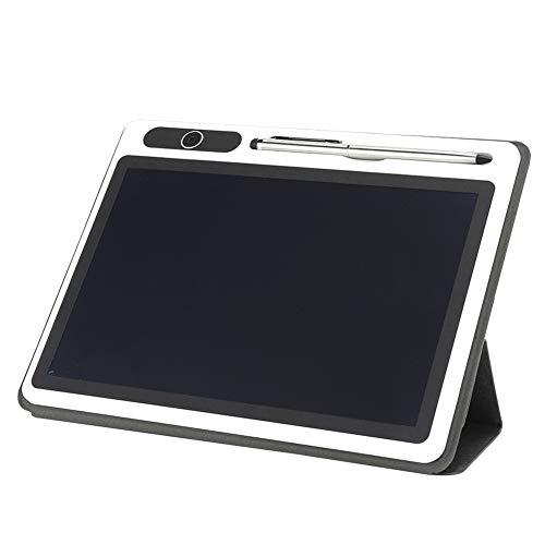 Tableta de escritura LCD, Tabletas gráficas de tablero de dibujo electrónico de 10 pulgadas, Regalo de escritura a mano para niños Oficina de escuela en casa(Estuche de cubierta negra)
