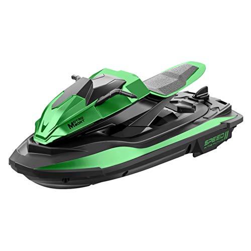 Yunt-11 WaveRunner - Barco de motor con mando a distancia para piscinas y lagos – RC WaveRunner eléctrico de alta velocidad, juguete controlado para mini lancha para adultos y niños