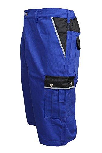 TMG Short Kurze Hose Shorts Arbeitshose Bundhose blau Gr. 50