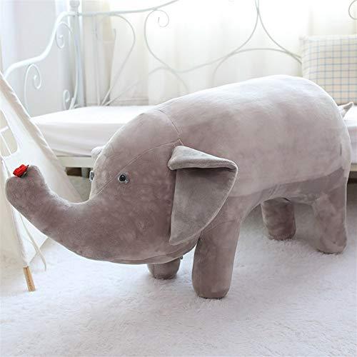 HUOQILIN Pig Sofa-Kissen-Plüsch-Spielzeug-Schwein-Plüsch Hocker Kissen Sitz Couch (Color : Gray)