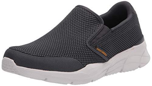 Skechers mens Skechers Men's Equalizer 4.0 Krimlin Loafer, Charcoal, 10 X-Wide US