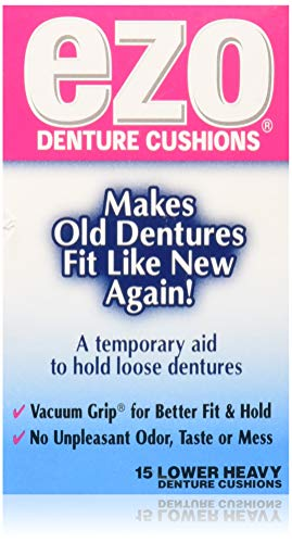 10 best ezo denture cushions lower heavy 15 for 2021