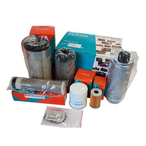 Wallentin & Partner | Kubota Bagger Filter-Kit für Kubota Bagger KX61-3 / KX71-3| Kubota Bagger Filter-Set