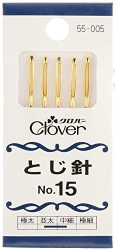 クロバー (lover) lover とじ針 No.15 5本