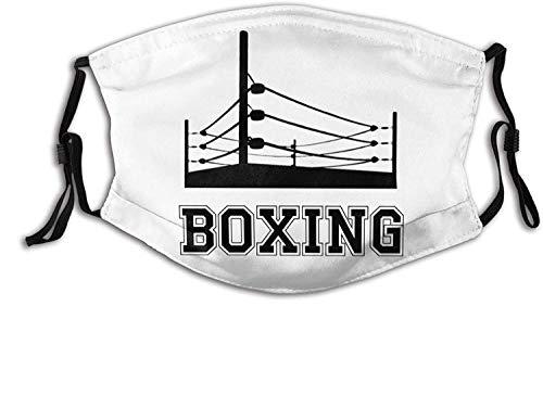 ice Hockey Face Mask Mouth Cover, Reusable Neck Gaiter Washable Bandana Balaclava, for Unisex Sports Outdoor-Boxing-Ring