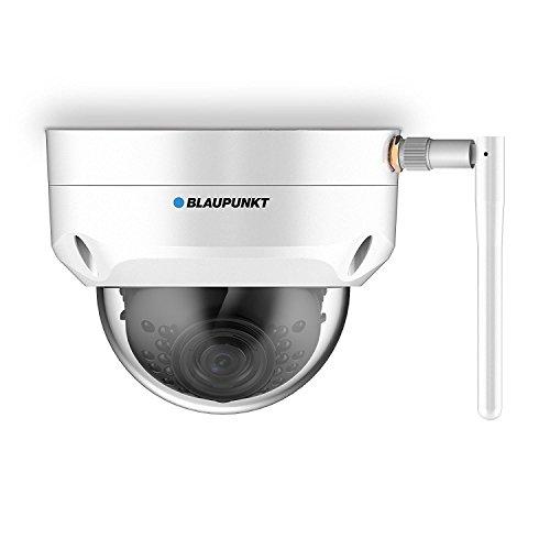 Blaupunkt IP Kamera Dome Outdoor VIO-D30 I Überwachungskamera mit App und WLAN & LAN I Wasserdichte Außenkamera IP67 I Full-HD IP Videoüberwachung 1296P I Kamera mit Bewegungsmelder I Weiß