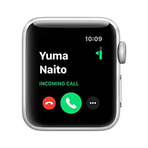 Apple Watch Series 3 (GPS, 42mm) Aluminiumgehäuse Space Grau - Sportarmband Schwarz
