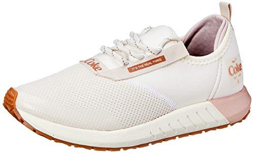Tênis Coca-Cola Shoes Fury, Feminino, Off White/Cobre, 33