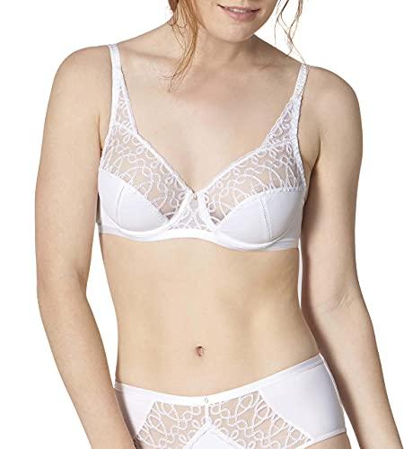 Triumph Delicate Design W Soutien-Gorge à Armature, Blanc (White 0003), 95E Femme