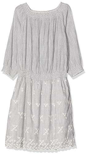 ESPRIT Damen Kleid 037EE1E022, Blau (Navy 400), 38