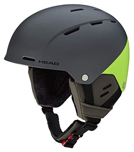 Head - Casco da Sci Unisex per Adulti Trex, Grigio Verde, XS S