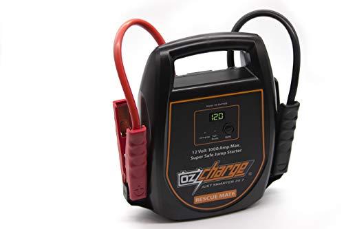 OzCharge RescueMate 12-Volt Super Capacitor Jump Starter – 1000 Amp