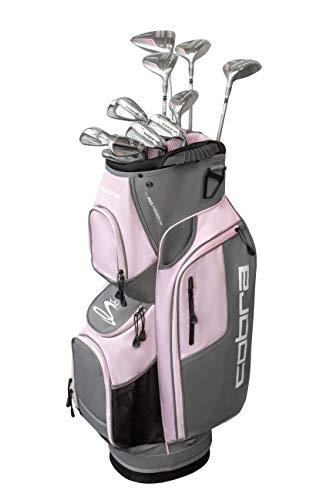 Cobra Golf 2019 XL Speed Complete Golf Set (Women's, Silver-Pink, Right Hand, Graphite, Ladies Flex)
