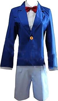 Soul Manxuan Cosplay Costume for Detective Conan Edogawa Konan Blue