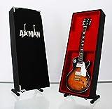 Jimmy Page (Led Zeppelin) : 1959 Les Paul Standard – Réplique de guitare miniature (vendeur britannique).