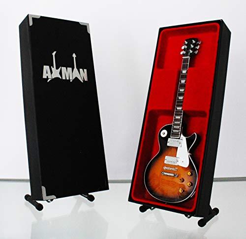 Jimmy Page (Led Zeppelin) - Nachbildung einer Miniatur-Gitarre
