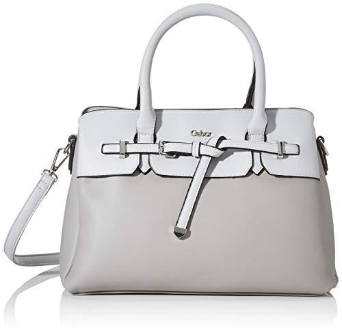Gabor Shopper Damen, Grau, Arica, 32x13x24,5 cm, Handtasche, Umhängetasche