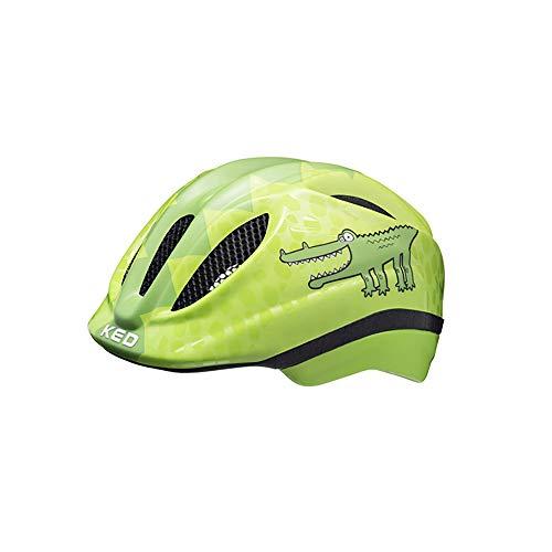 KED Meggy II Trend Helm Kinder Green Croco Kopfumfang S/M | 49-55cm 2021 Fahrradhelm