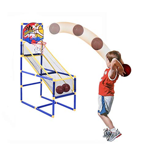 Basketball Circle Arcade Game Toddler Toys Kids Toys Outdoor/Indoor Basketball Shooting Training System for 3+ Years Old Boy Gift Basketball Hoop Game