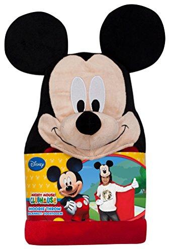 Karneval-Klamotten Umhang Kuscheldecke Fleece Mickey Mouse