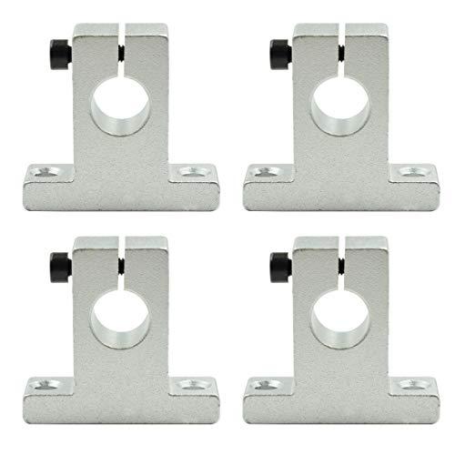 TOUHIA 4 Stück 12 mm Linearschiene optische Achsenhalter SK12 CNC Linear Motion Bracket