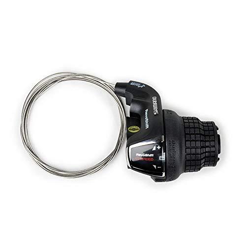ZUKKA Revoshift Right Shift Lever,SL-RS35-6R Tourney Twist Grip Gear,6-Speed Bike Handle Shifter,MTB Mountain Bicycle Derailleur Transmission