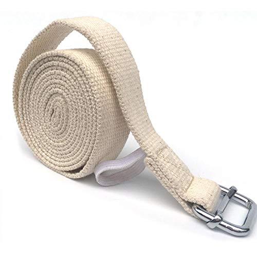 YHYMY Yoga Stretch Stretch D-Ring Cinturón Ejercicio Gimnasio Cuerda Figura Cintura Resistencia a la Pierna Fitness Banda de la Pierna Resistencia a la Pierna Cinturón de Yoga 3M / 9.8FT
