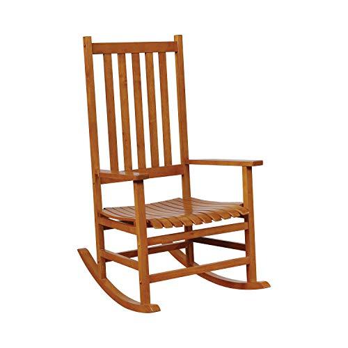 Coaster Home Furnishings Wood Rocker Arm Chair