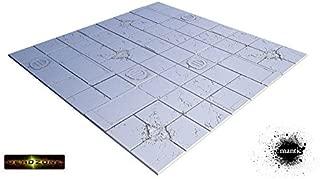Tablescape Tiles - Deadzone Display Board (4 Tiles) by Miniatures Terrain Secret Weapon Miniatures