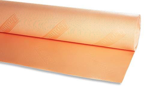 Isolmant 1N | Materassino isolante sottopavimento in polietilene Isolmant ad elevata densità, goffrato e serigrafato. Particolarmente indicato per ottenere un elevato comfort acustico interno