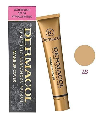 Dermacol Maquillage Couverture - Foundation HYPOALLERGÉNIQUE, Tous Les Types de Peau, (223)